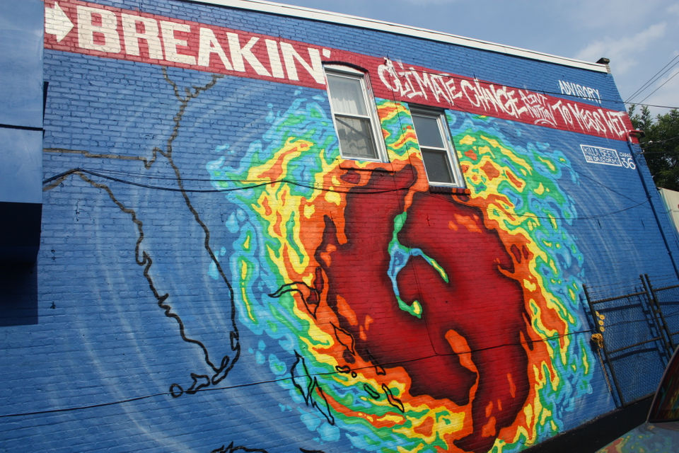 Climate Change Mural