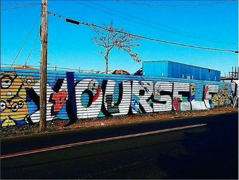 Believe in Yourself Mural