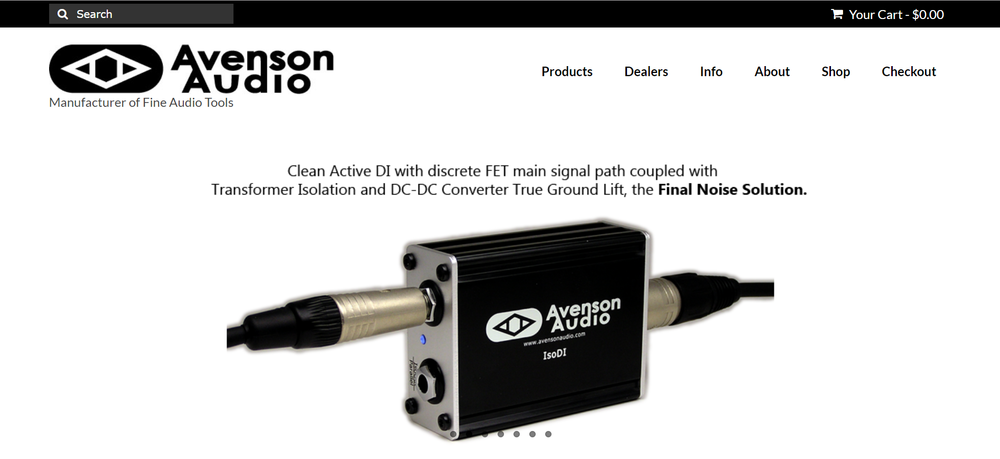 Avenson Audio - Manufacturer of fine audio tools.avensonaudio.com