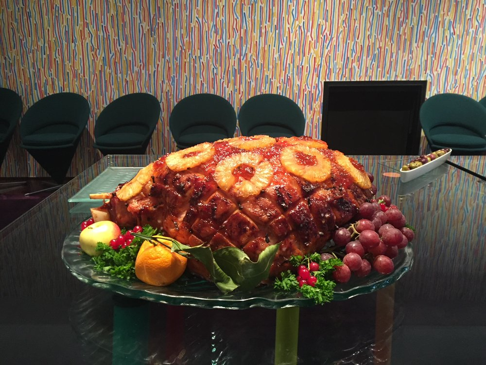 Jason's dad Peter's perfect Christmas Ham!!