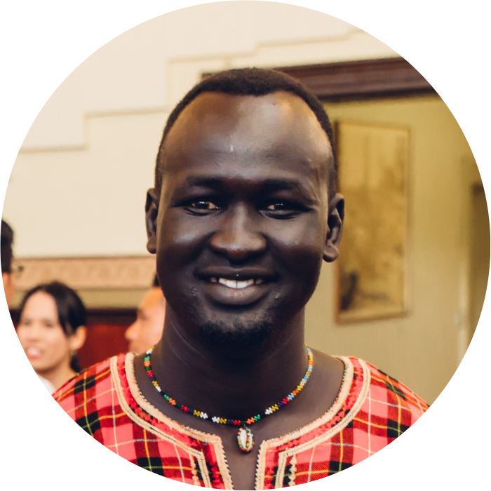 awan Mading - South Sudanese Community Leader