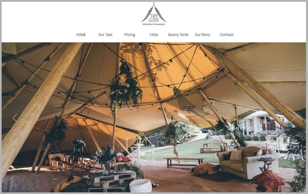 Tipi Luxe - PH: 0439046888 hello@tipiluxe.com.au
