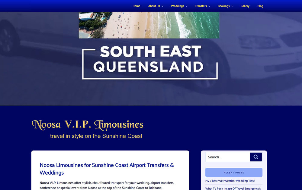 Noosa VIP Limousines - PH: 5442 4065 Email: noosaviplimousines@gmail.com