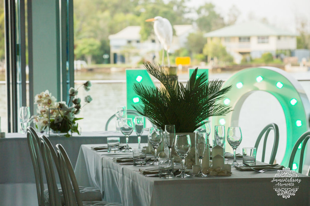 Noosa marina the River Deck Restaurant