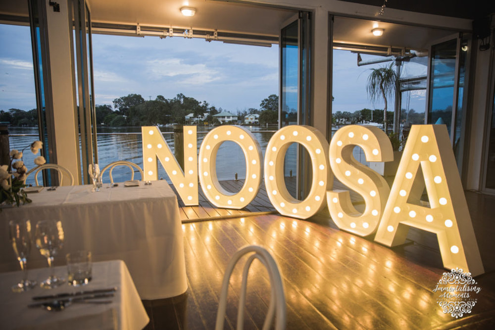 Event Letters lighting