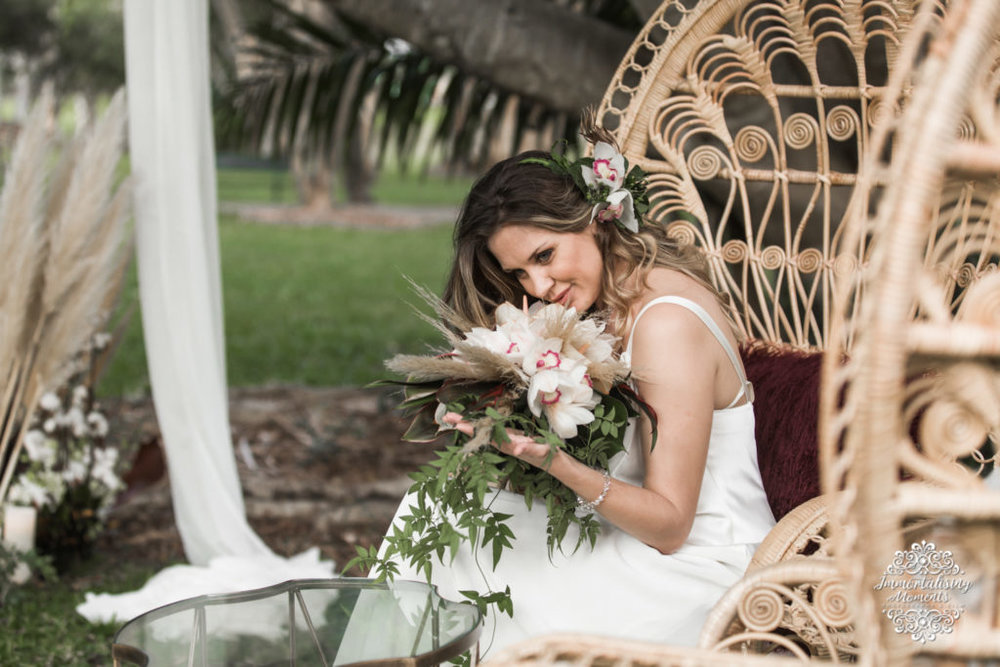 Brides hair and makeup by Beauty On The Moove