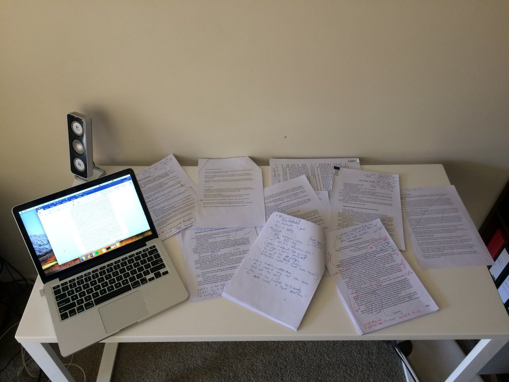 This is what my novel looks like… -
