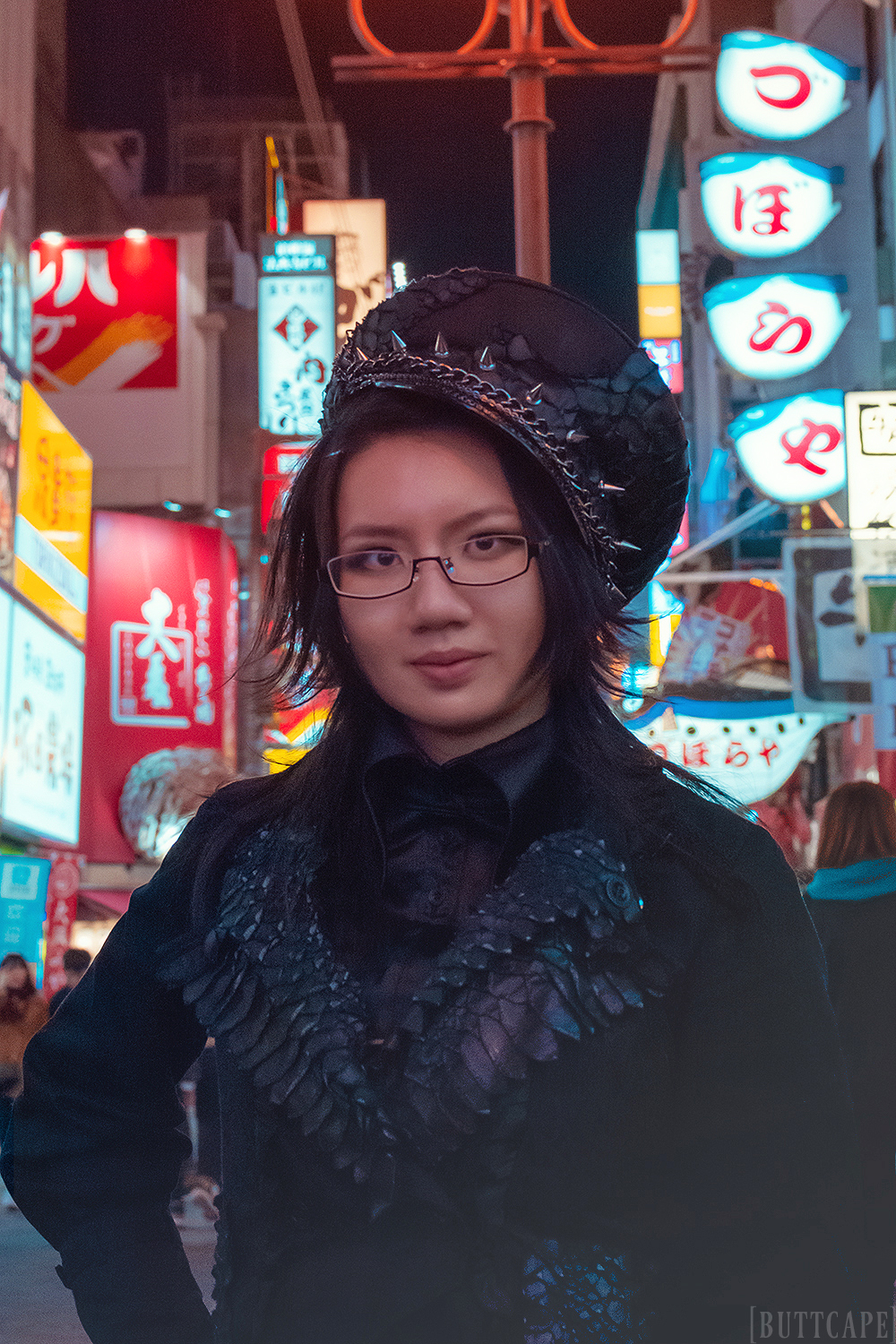 My new profile picture was taken at Dontonbori in Osaka | Photo:  Going Grimy , Edit: Buttcape