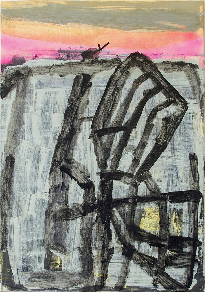 _003_3-Landschaft mit Windmühle im Abendrot_100x70_acryl-Leinwand 2016-2018_P.jpg