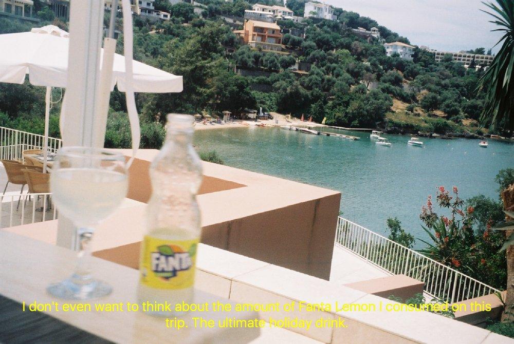 Corfu on 35mm Film