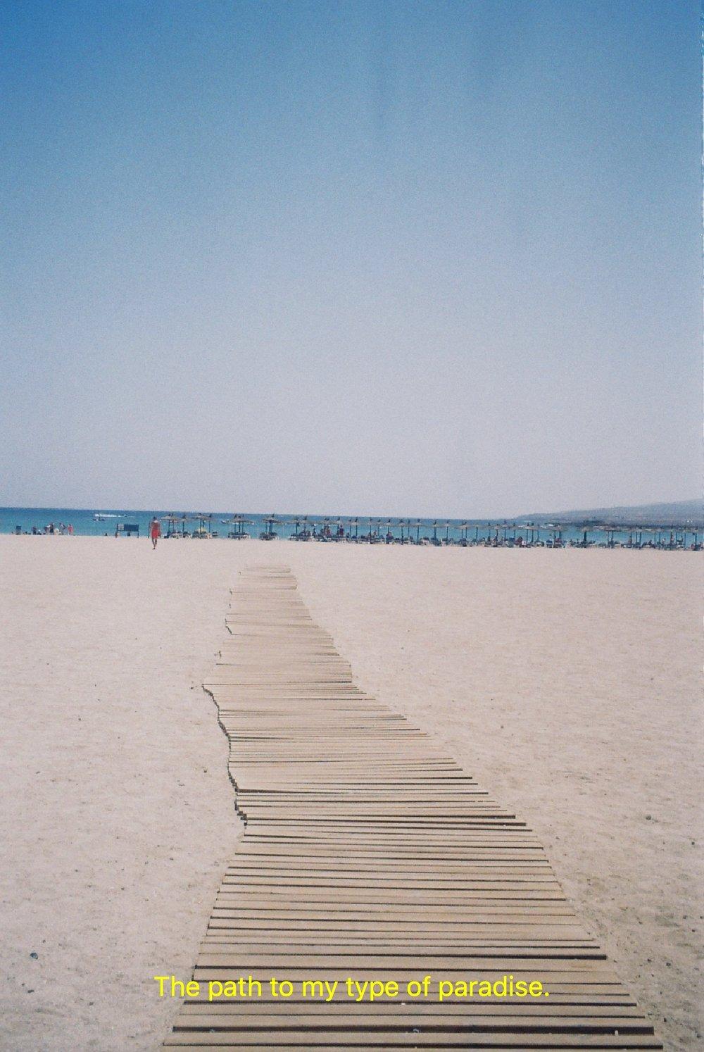 Fuerteventura on 35mm Film