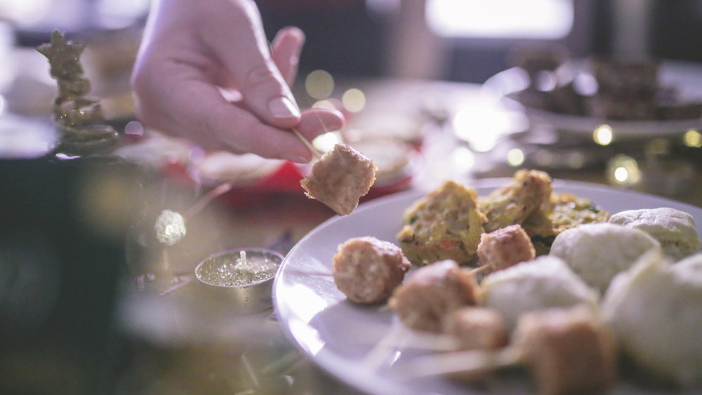 Linda McCartney sausages, Linda McCartney pork & apple sausage rolls, Tesco bubble and squeak
