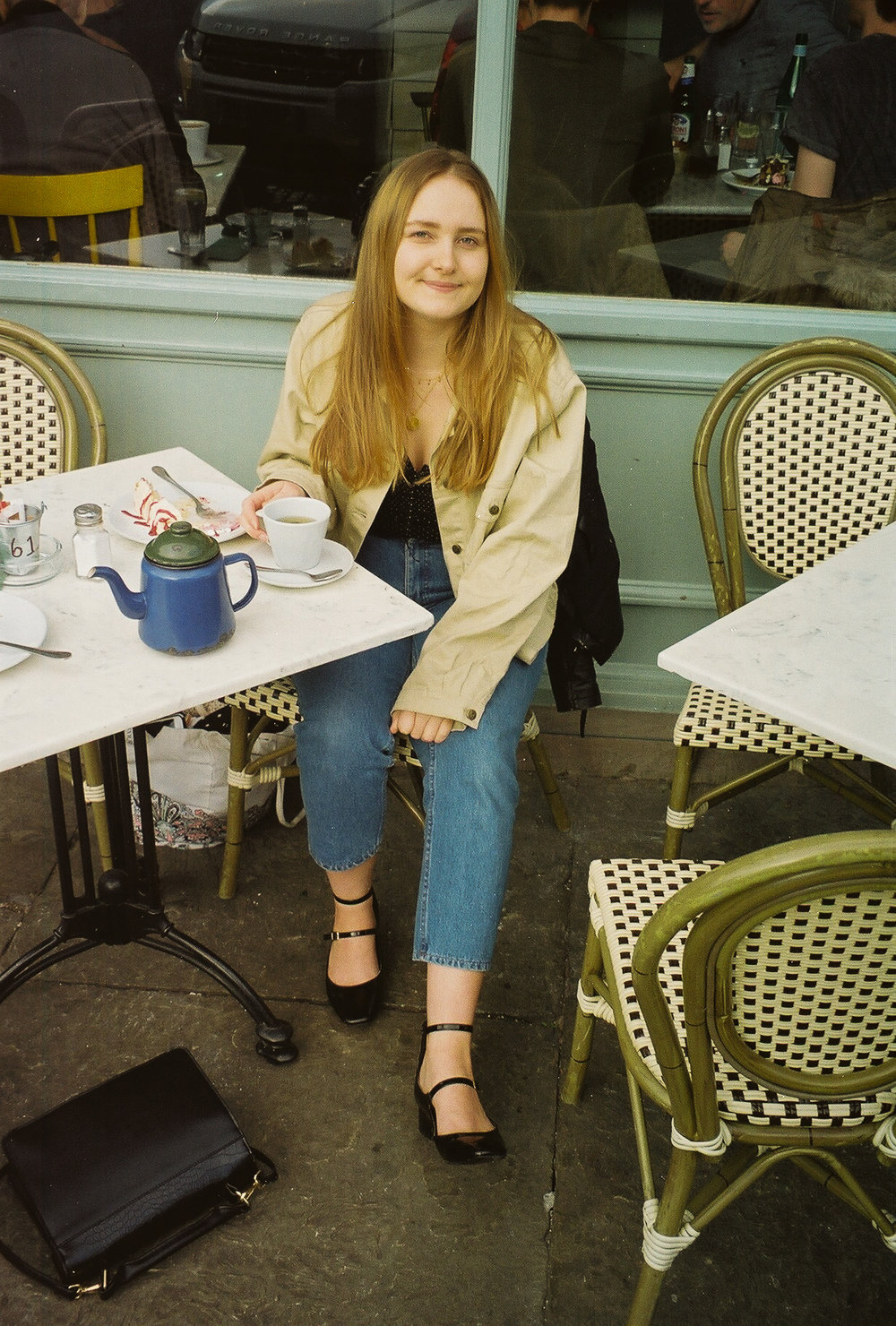 French Girl Style Parisian Cafe