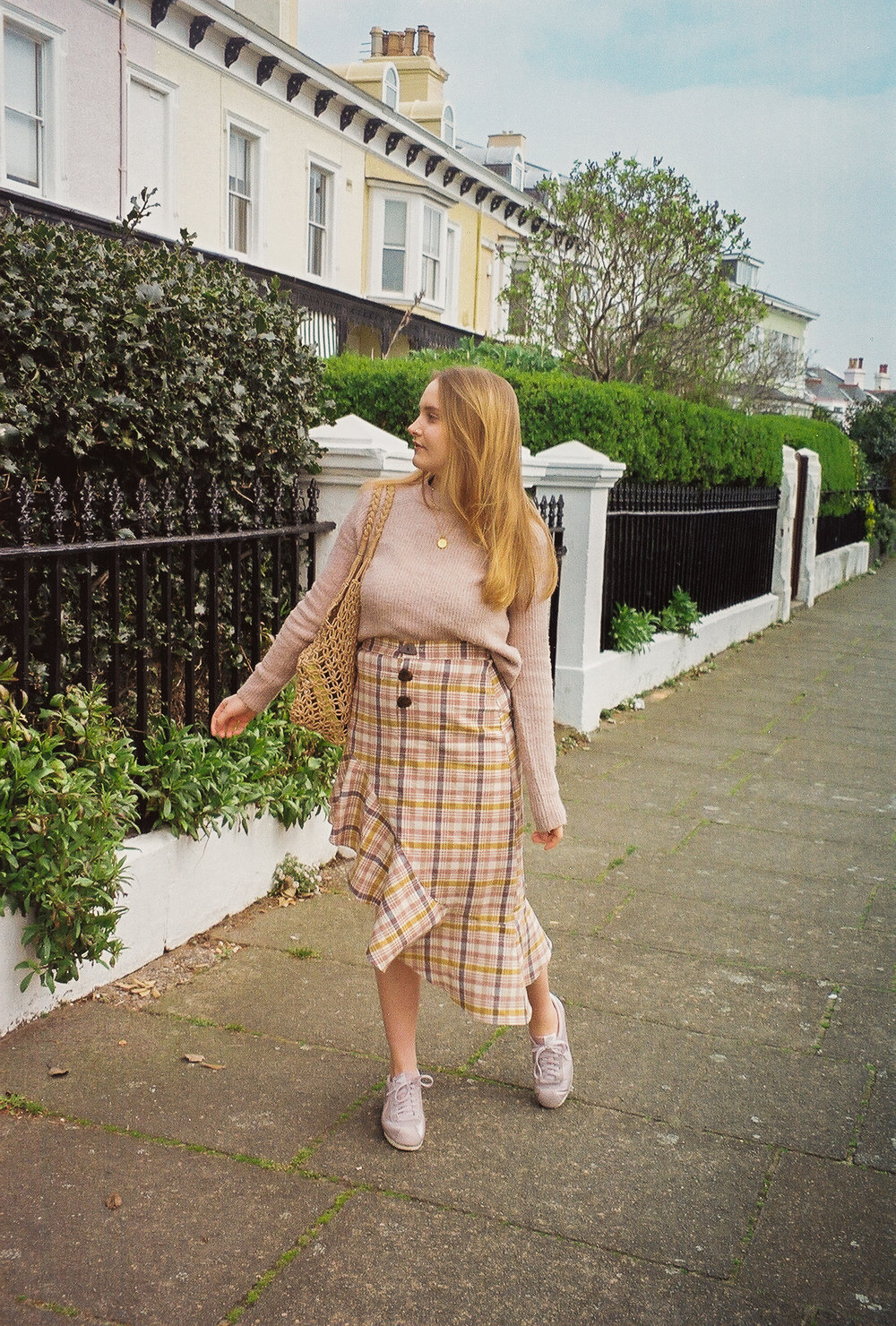 Pastel Spring Outfit Pastel Checks
