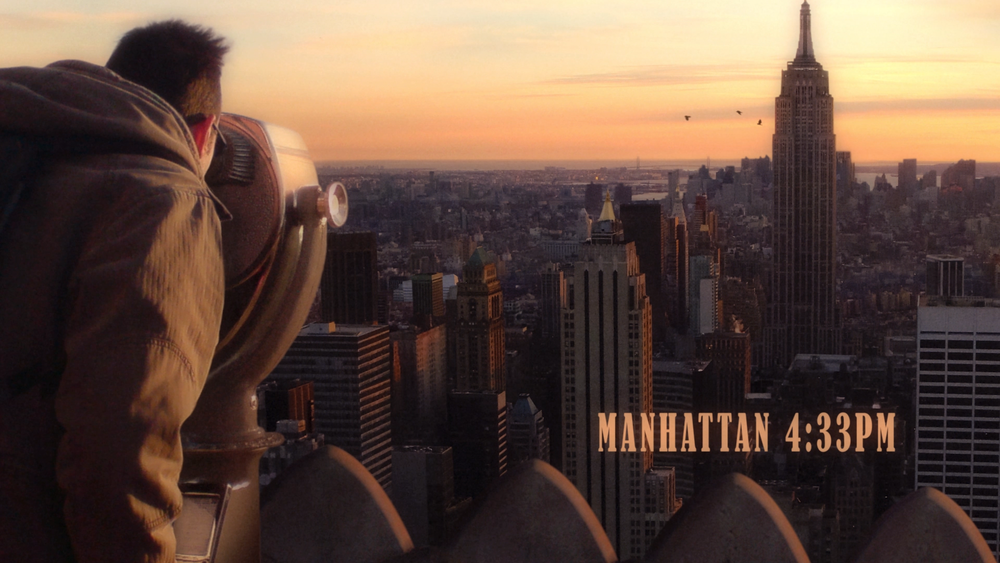 Manhattan 4:33pm by Lizzie Oxby