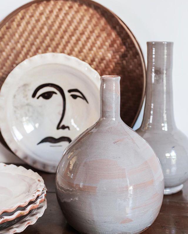 🖤 #tablesetting #ceramic #casarosa #handmade #handmadeinmallorca #mallorca
