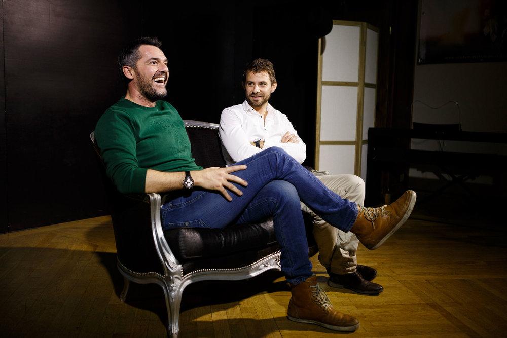 Arnaud Ducret & Martin Rougier directeur artistique de l'Académie