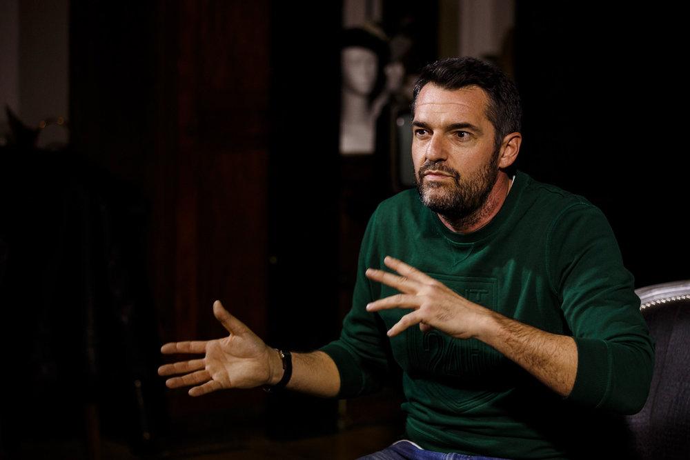 Arnaud Ducret - Parrain de l'Académie des arts dramatiques de Chantilly