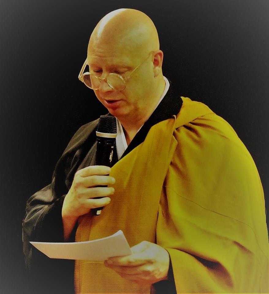 Eldstebroder Såzen Residerende prest Bugaku zen-tempel i Kristiansand