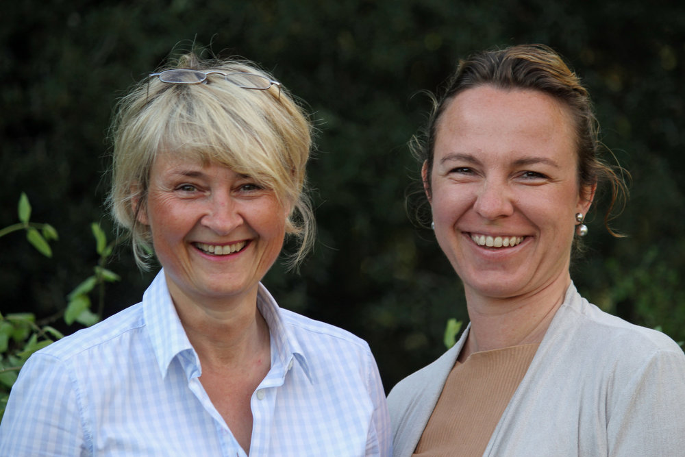 Kerstin Esser und Angela Frauholz