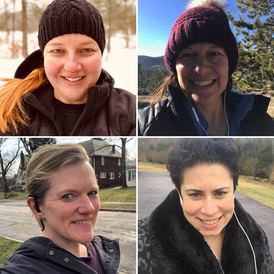 Our team knocked out 105 miles all together and not only feel more connected as friends, we kept each other motivated to reach our goals!  -Kayt rocked her miles and is ready to take on February!