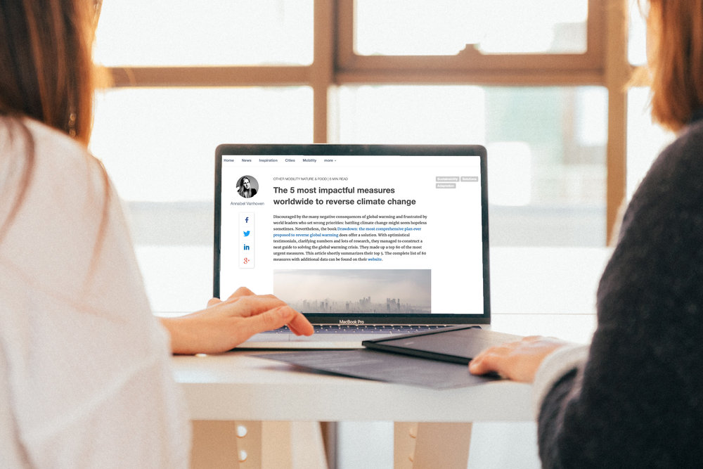 blog - Discover a combination of news topics, report resumes and inspirational topics on climate change, measures and actions for cities and regions on our blog.