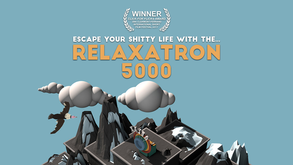 'RELAXATRON 5000' WINS AT CLERMONT-FERRAND INTERNATIONAL FILM FESTIVAL