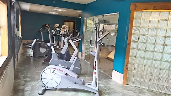 Our fitness centre is equipped for you.