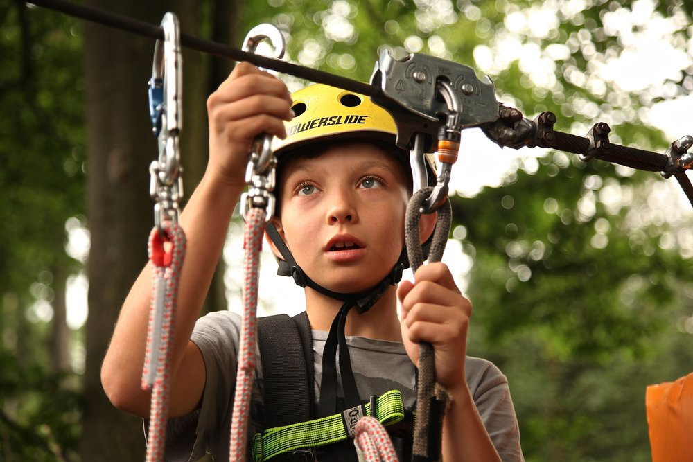 Ziplining can be booked through Marble Zip Tours