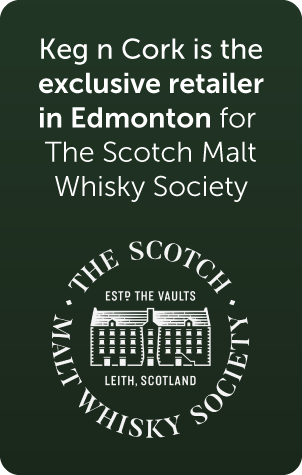 keg n cork is the exclusive retailer in edmonton for the scotch malt whisky society