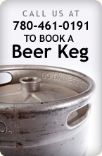 book a beer keg