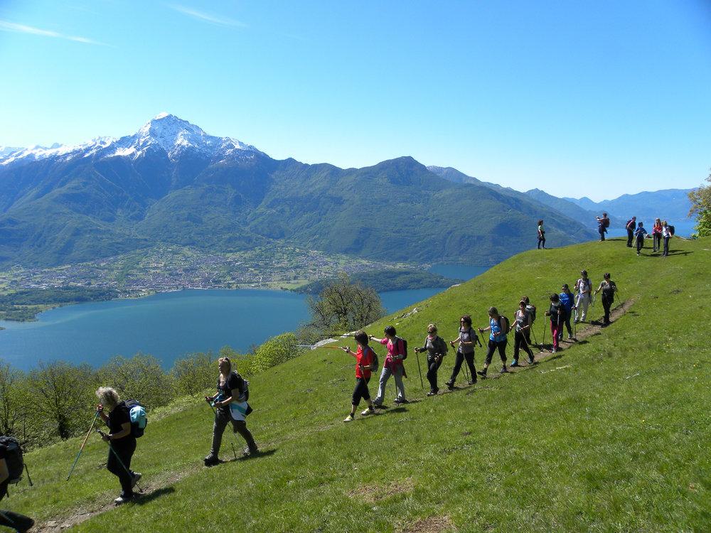 Hiking  on Lake Como DSCN6748.JPG