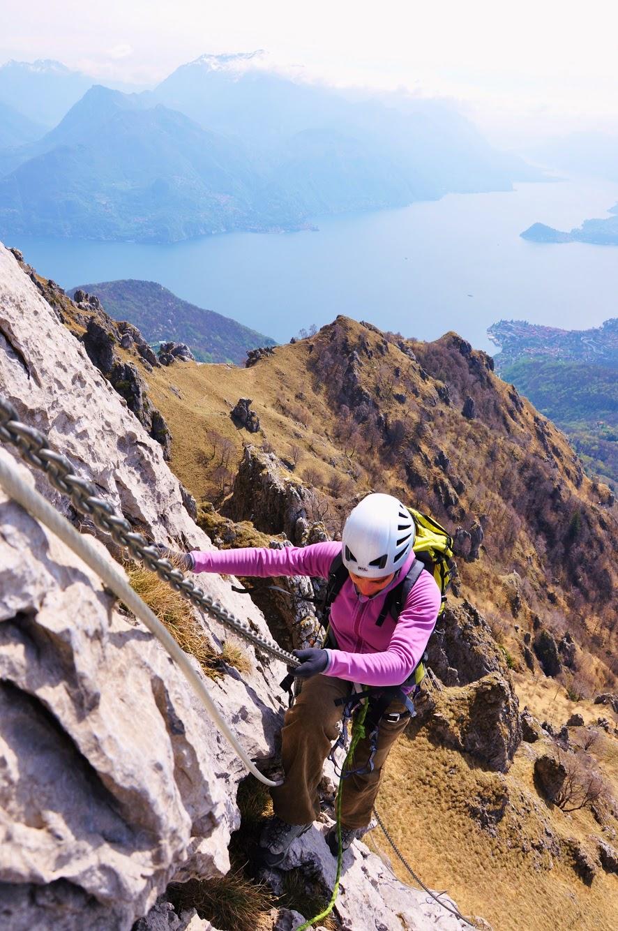 alpinismo lago como