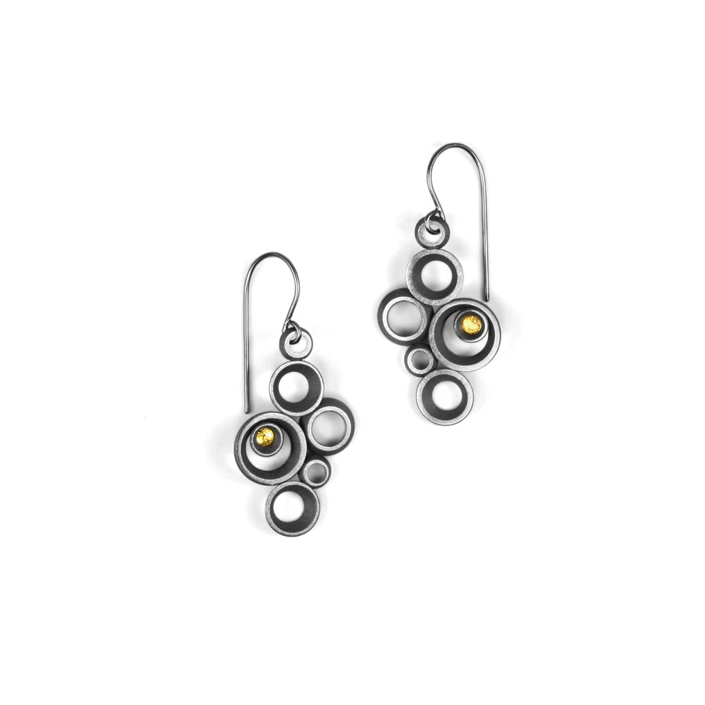 concave~convex FAIRMINED earrings