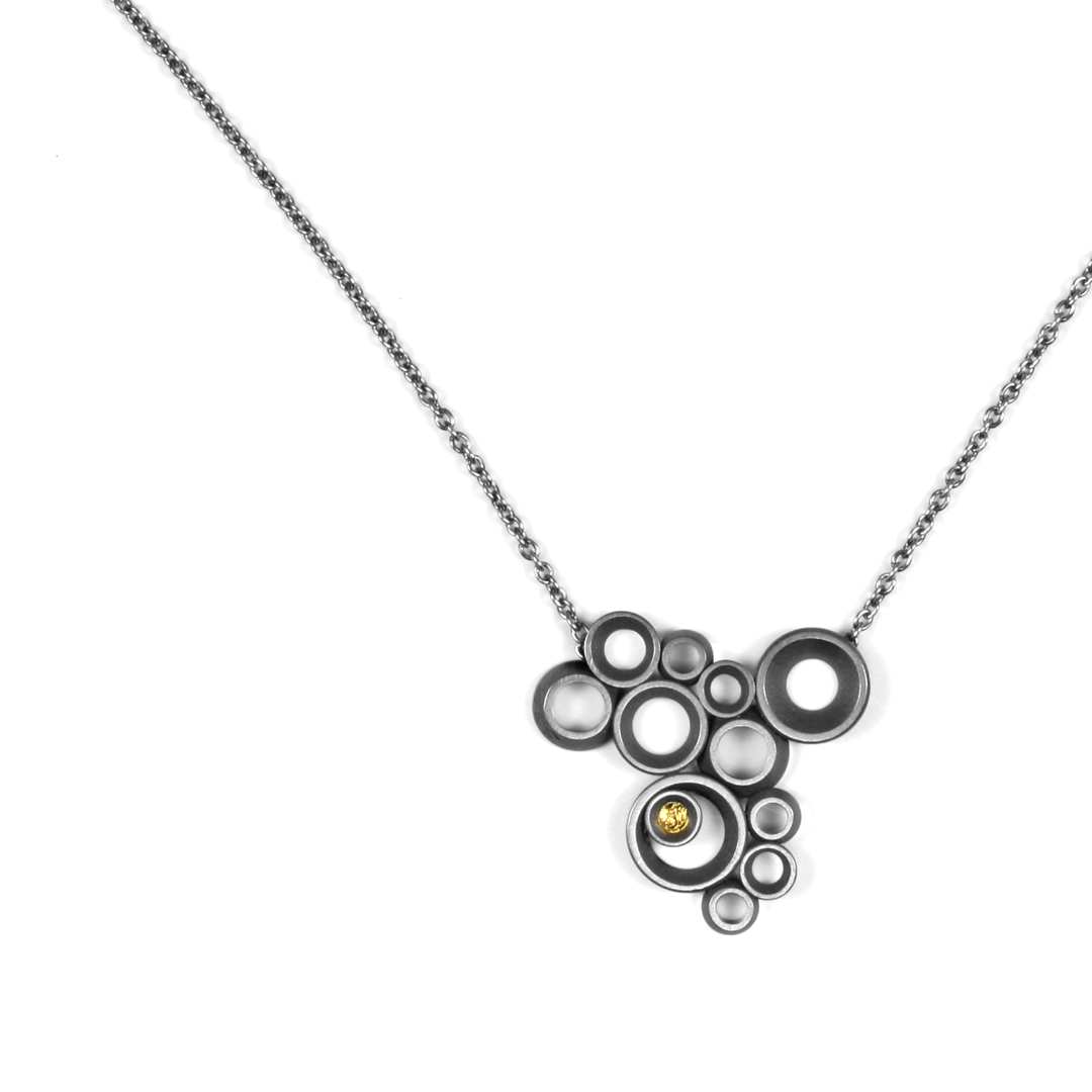 concave~convex FAIRMINED necklace