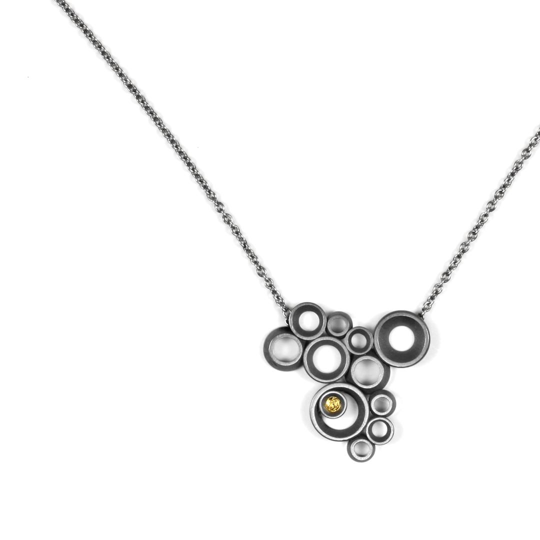 concave~convex FAIRMINED necklace