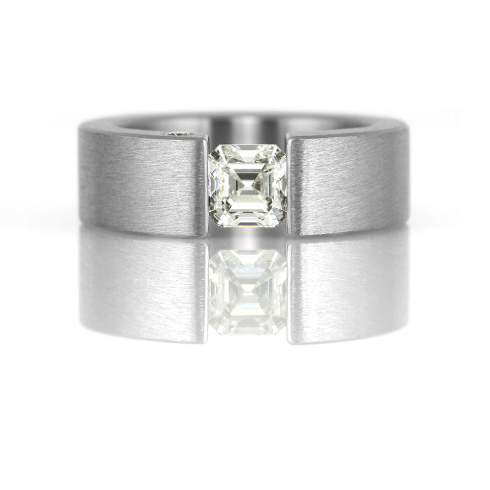 'the one' for emerald cut stone