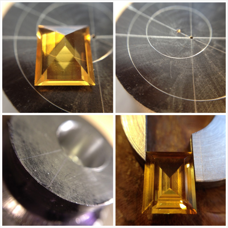 the process: constructing the pendant