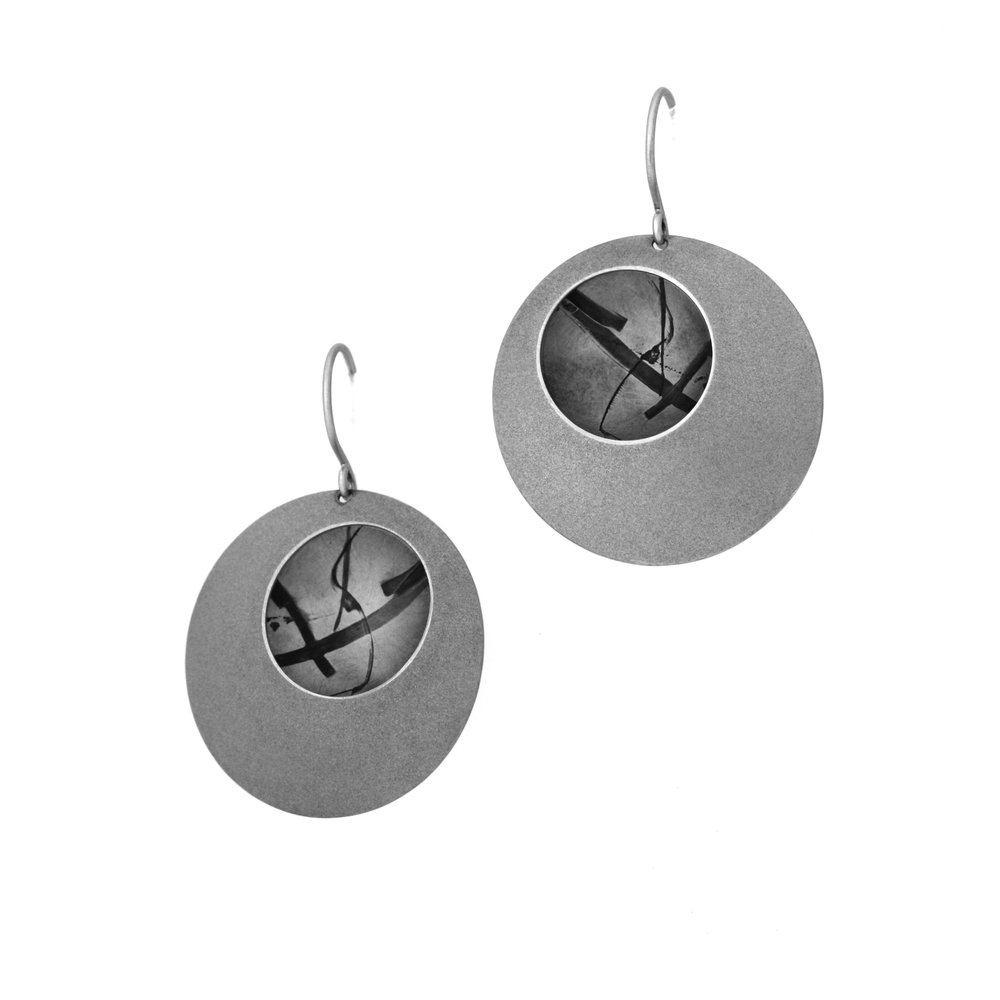portal ~ reflections earrings