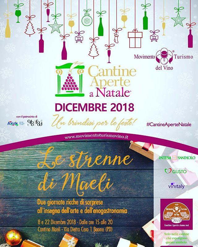 coming soon 😀..... 🥂🥂🥂🥂🥂🥂 . . .  #Maeli #Yellowmuscat#Moscatogiallo# Muscat #volcanicwines #lestrennediMaeli #mtvVeneto #CantineAperteaNatale #openwineries #winery #winerytour #winetour #winetasting #winepairing #instawines #winecountry #ars #artist #gift #Christmasgift