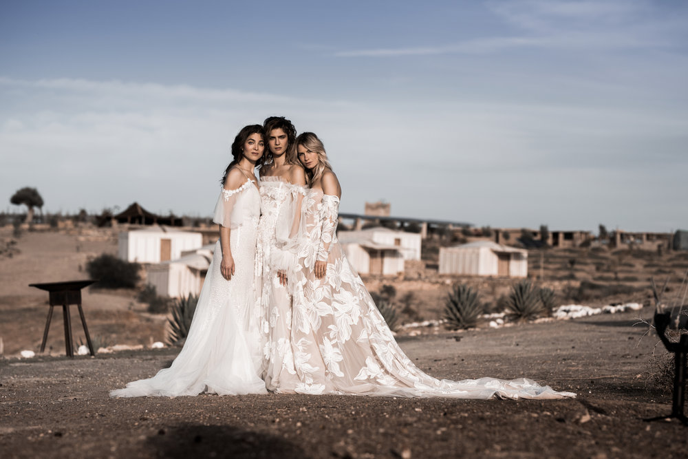 NOMADS - made to order bridal collection