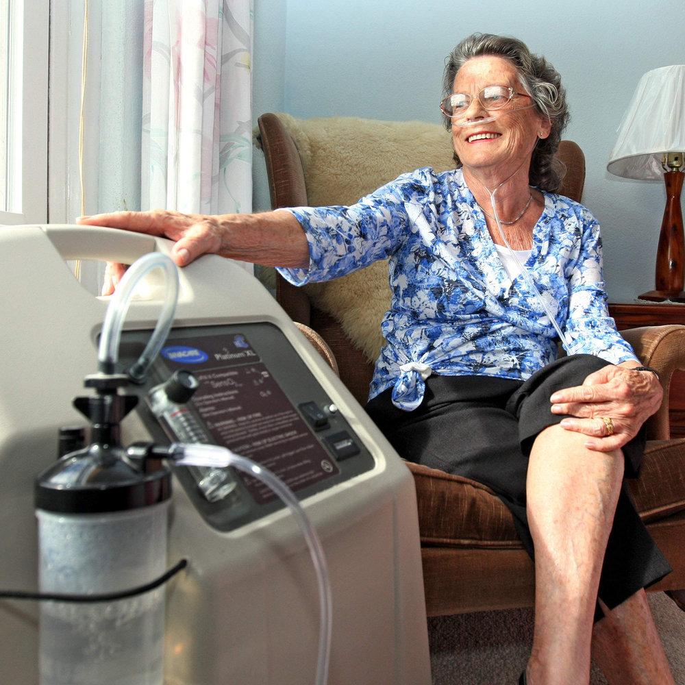 Oxígeno medicinal en la comodidad de tu casa. -
