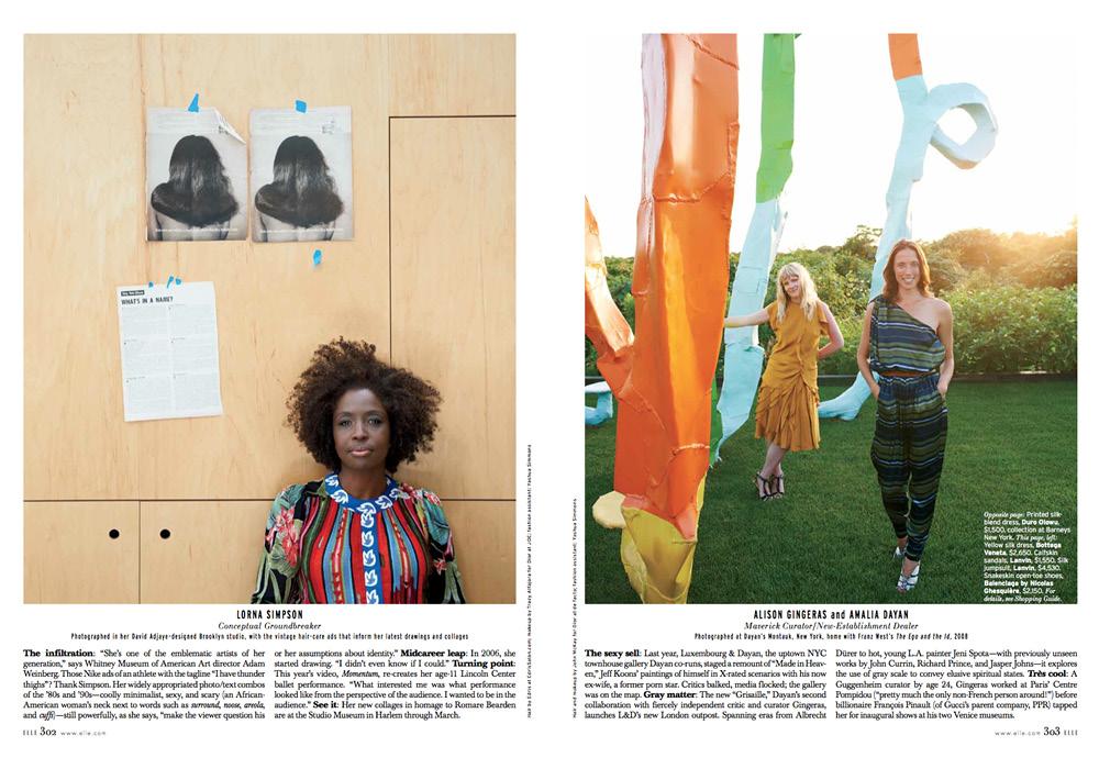 Elle Women in Art -