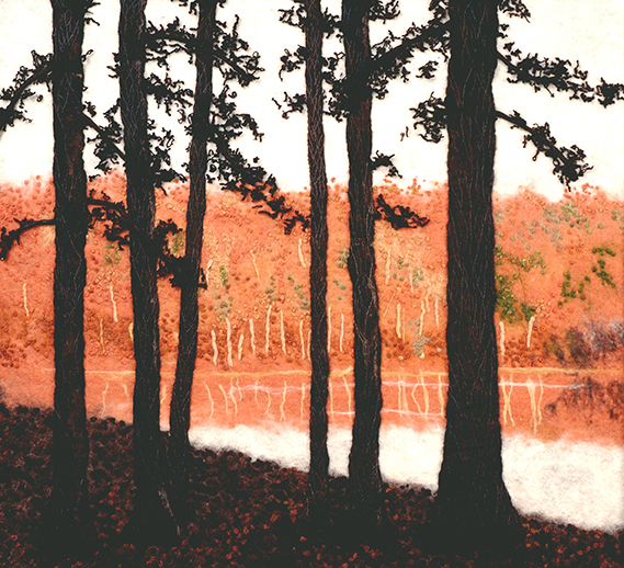 """Autumn - Lake Catherine"" by Barbara Cade ©2005"