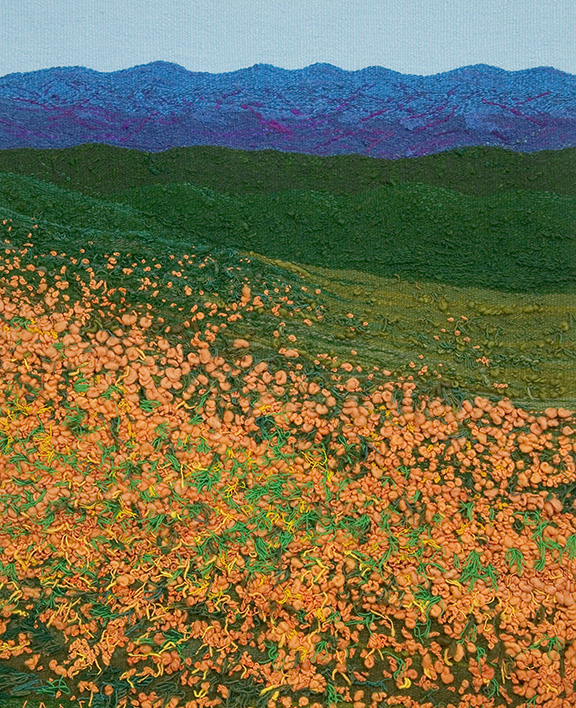 """Flower Mountain"" by Barbara Cade ©1989"