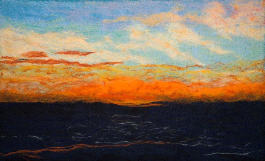 """Sunset"" by Barbara Cade ©"