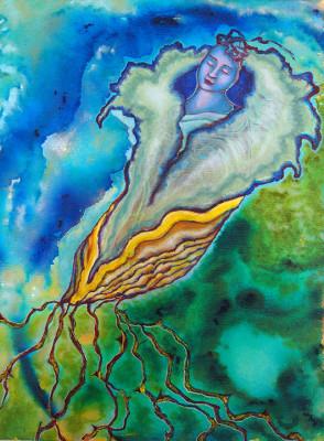 My Chrysalis painting.