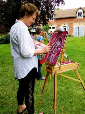 Painting in Chavenay