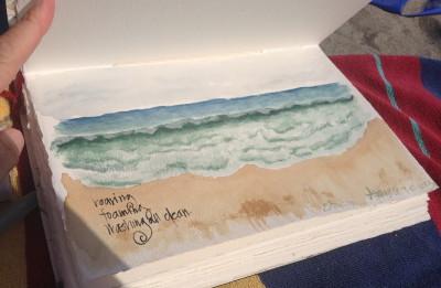 Sumi-e Waves at Stinson Beach