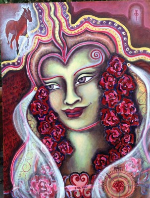 Lady of Love: Queen of Roses